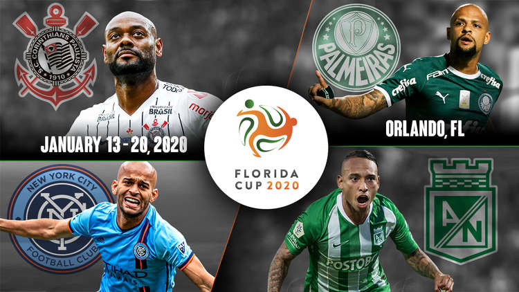 The Florida Cup will take place on January 15 and 18 at Orlando's Exploria Stadium.