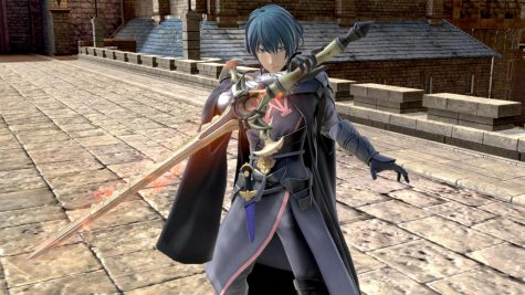 "Professor Byleth from ""Fire Emblem: Three Houses"" was announced to join"