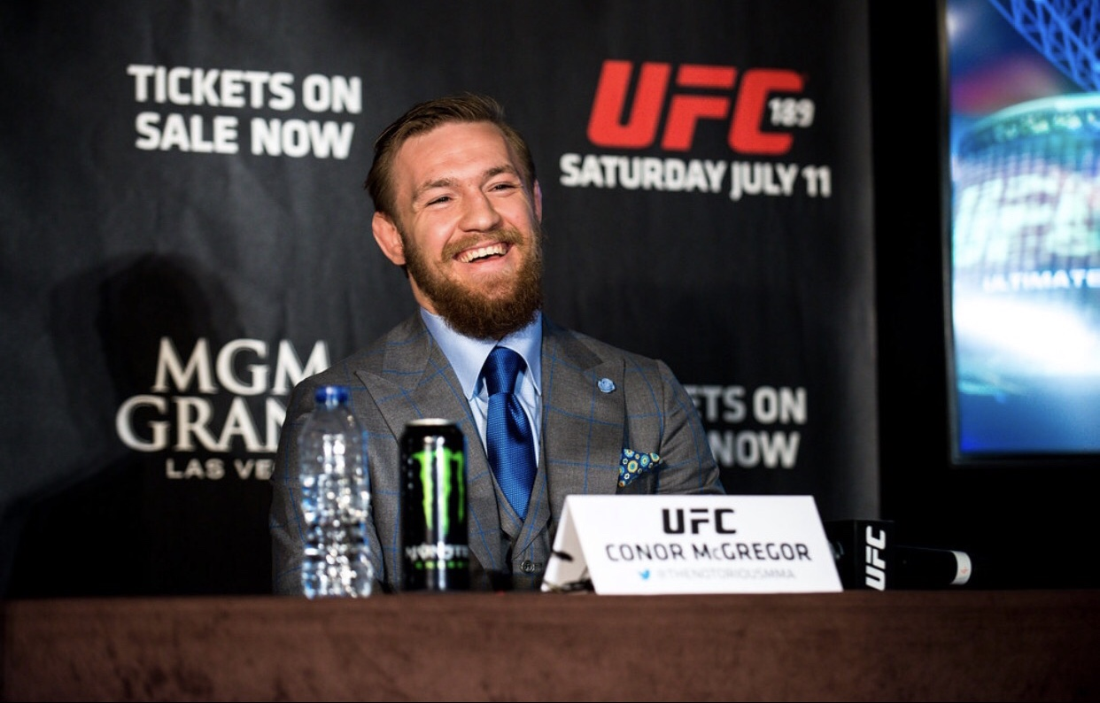 Who should Conor McGregor face next? Photo by Andrius Petrucenia