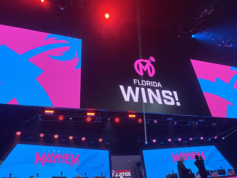 Florida after their win on Junkertown against the Toronto Defiant prior to COVID-19 moving the matches online.