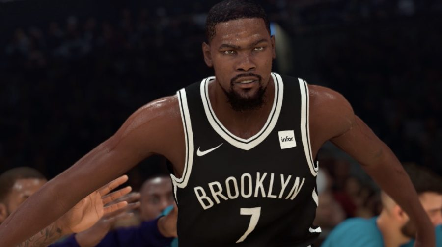 Kevin Durant in the number one seed in the 2K tournament. Photo from nba2kw.com