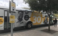 The grocery shuttle takes Downtown Orlando students to the Publix at The Paramount at Lake Eola.