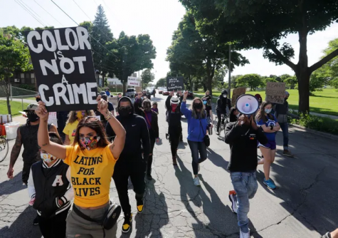 Hispanic Americans unite with Black Lives Matter movement but are feeling unrecognized.